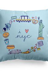 Pillow - I heart NYC