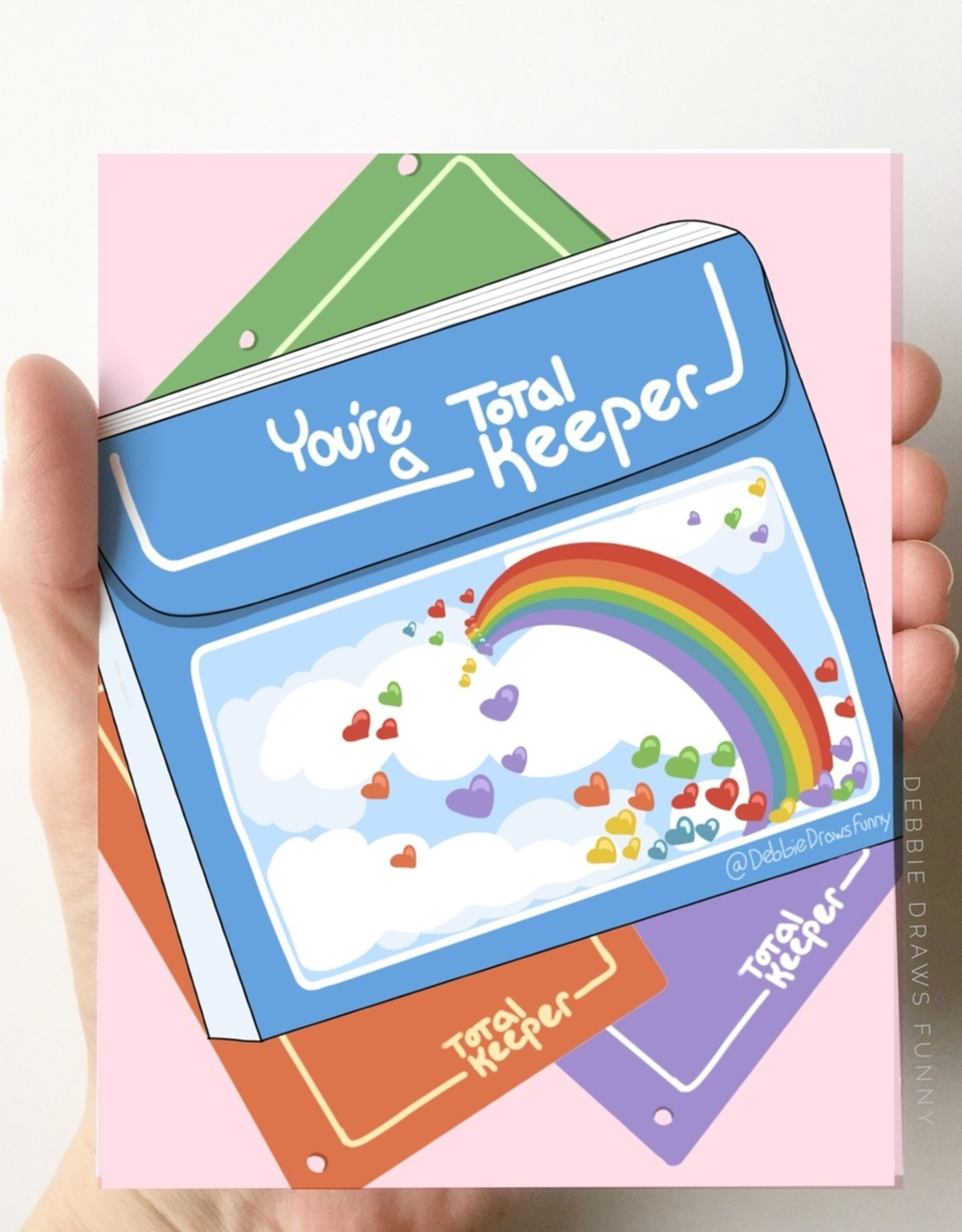 Card - Love: Total Keeper