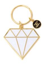 Enamel Keychain - Diamond