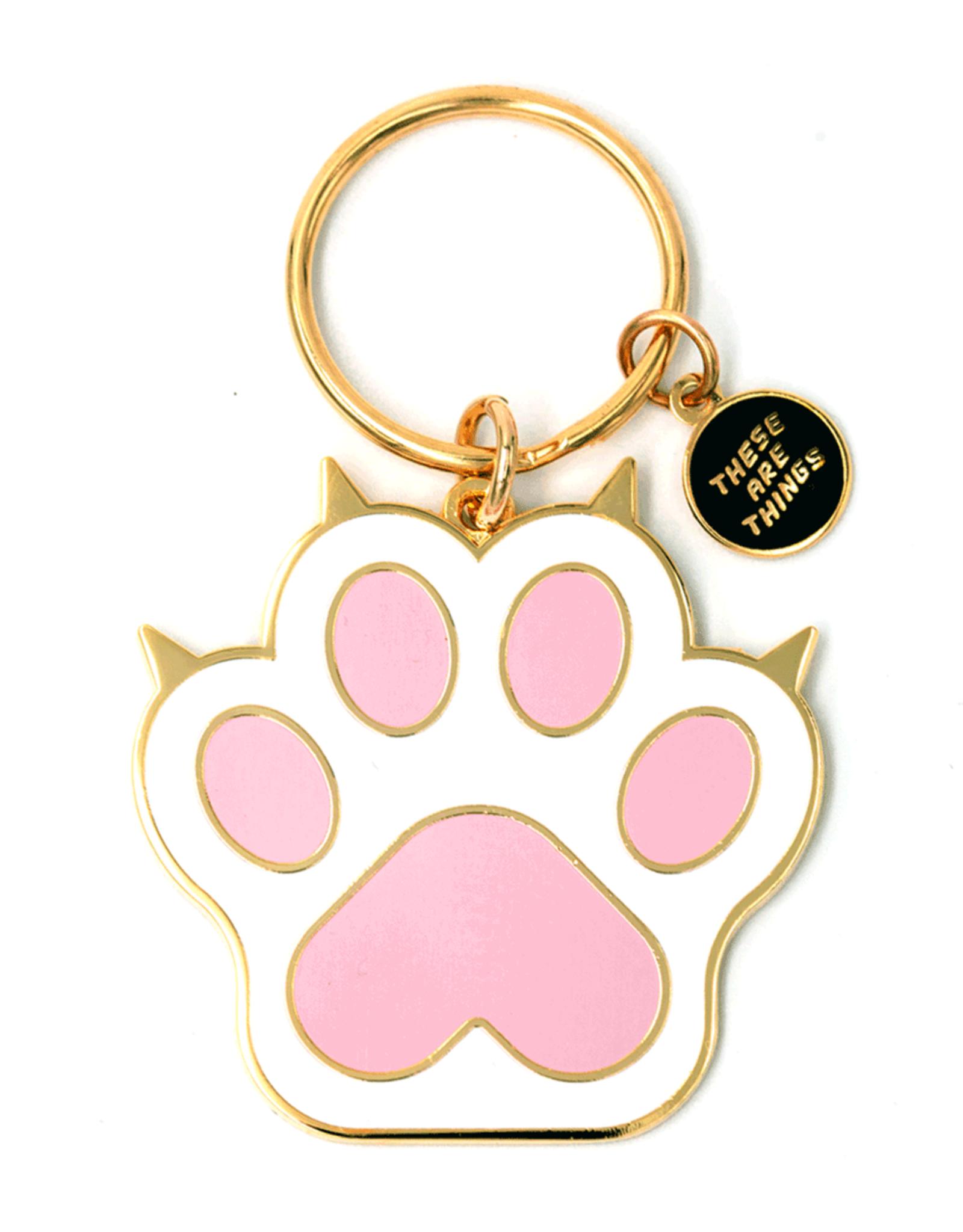 Enamel Keychain - Cat Paw