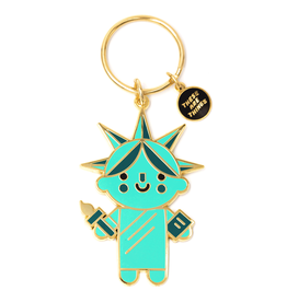 These Are Things Enamel Keychain - Liberty Baby