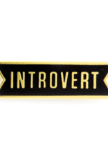 These Are Things Enamel Pin - Introvert