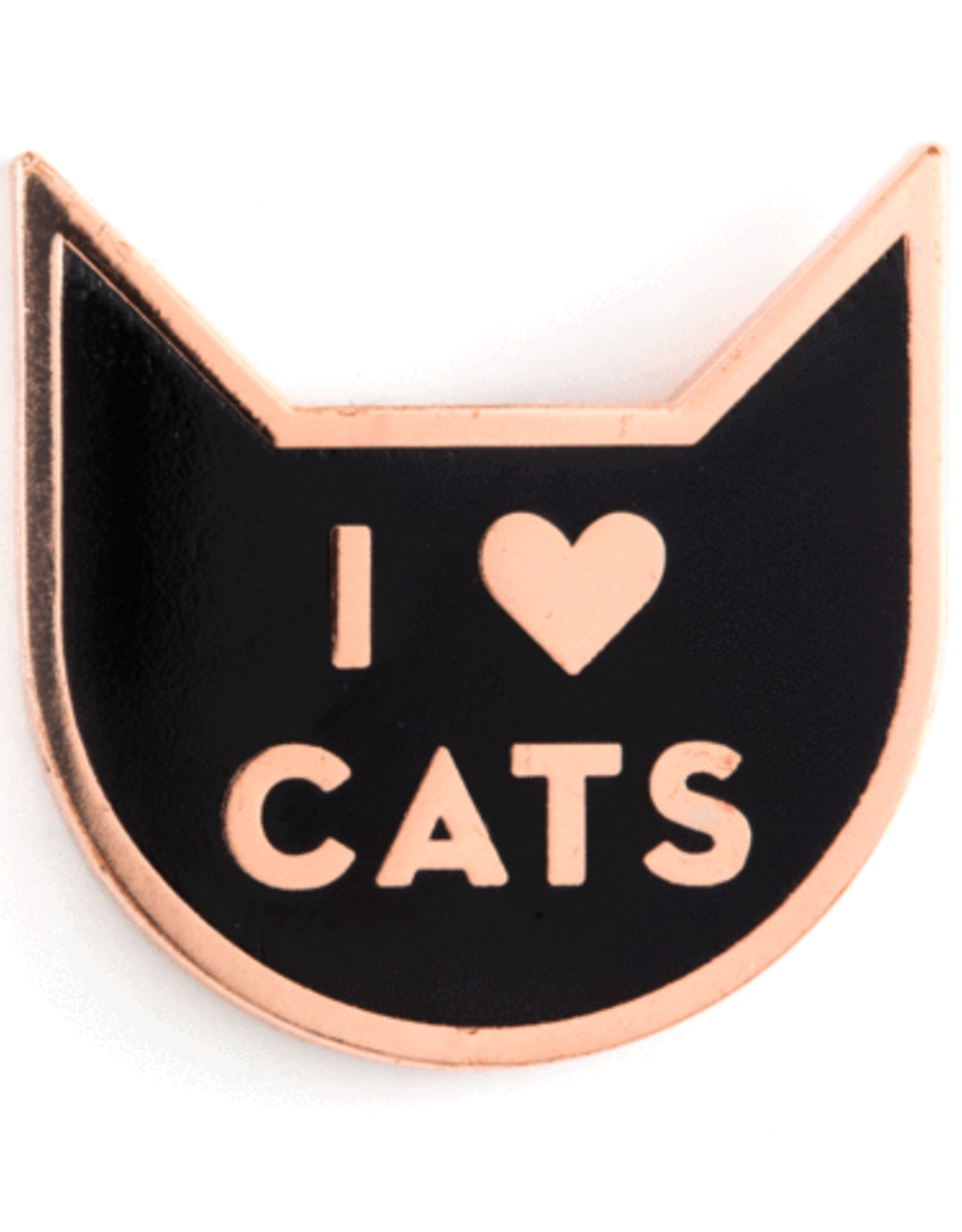 These Are Things Enamel Pin - I heart Cats