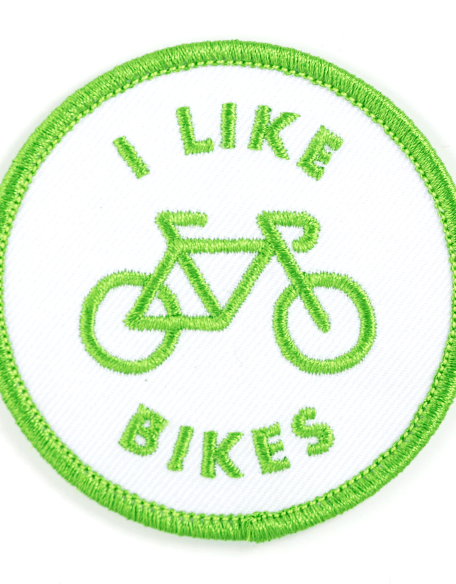 These Are Things Patch - I like Bikes