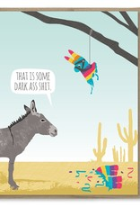 Card - Birthday: Donkey Pinata