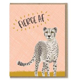 Card - Blank: Fierce AF