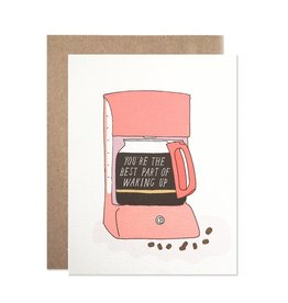 Card - Love: Best part of waking up