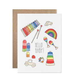 Card - Baby: Hello Baby Toys