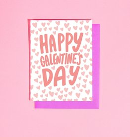 Card - Love: Galentines hearts
