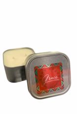 Love Notes LLC Candle: Grace Chrome Square Tins