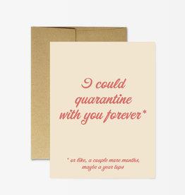 Card - Love: Quarantine forever
