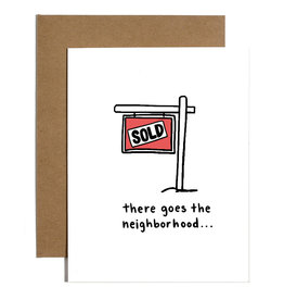 Brittany Paige Card - Blank: There goes the neighborhood