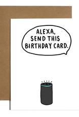Brittany Paige Card - Birthday: Alexa send this card