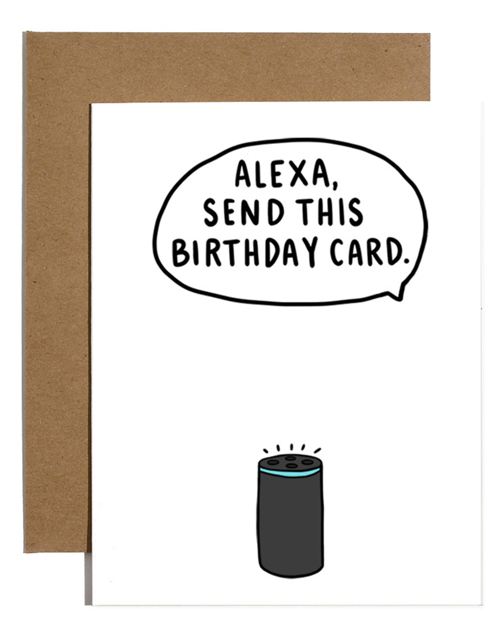 Brittany Paige Card - Birthday: Alexa send this card