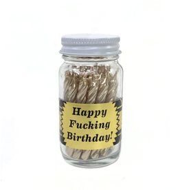 Spitfire Girl Happy Fucking Birthday Party Jar