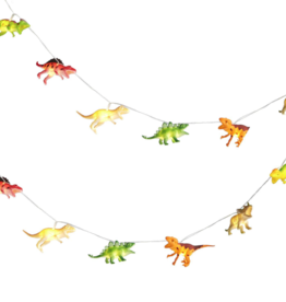 Two's Comapany Dino String Lights