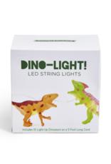 Two's Comapany Dino String Lights