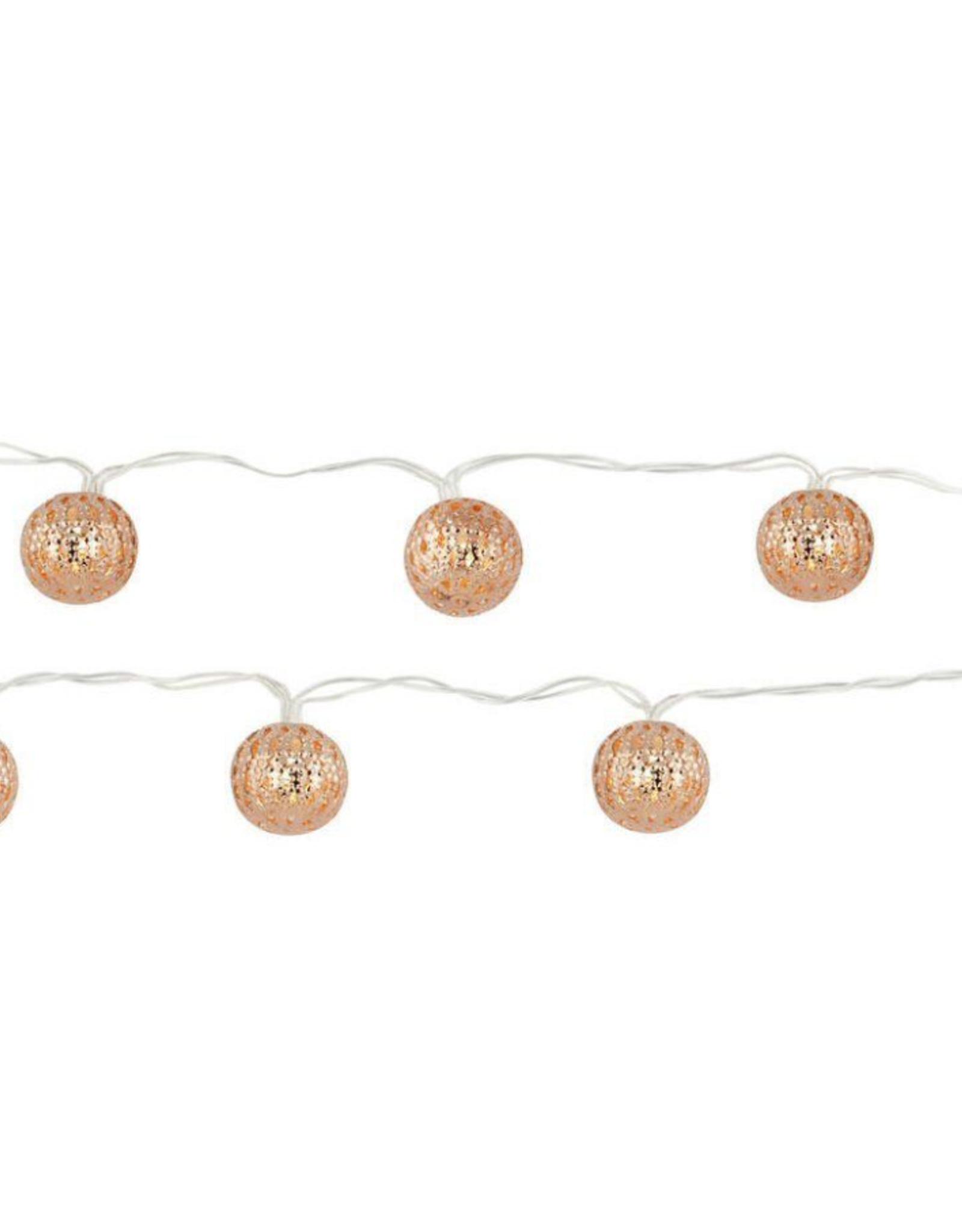 Kikkerland Copper Moroccan String Lights