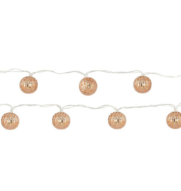 Copper Moroccan String Lights
