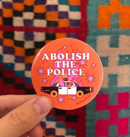 Ash & Chess Sticker - Abolish the Police
