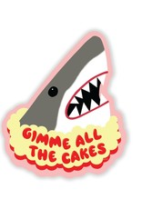 xou Sticker: Shark Cake