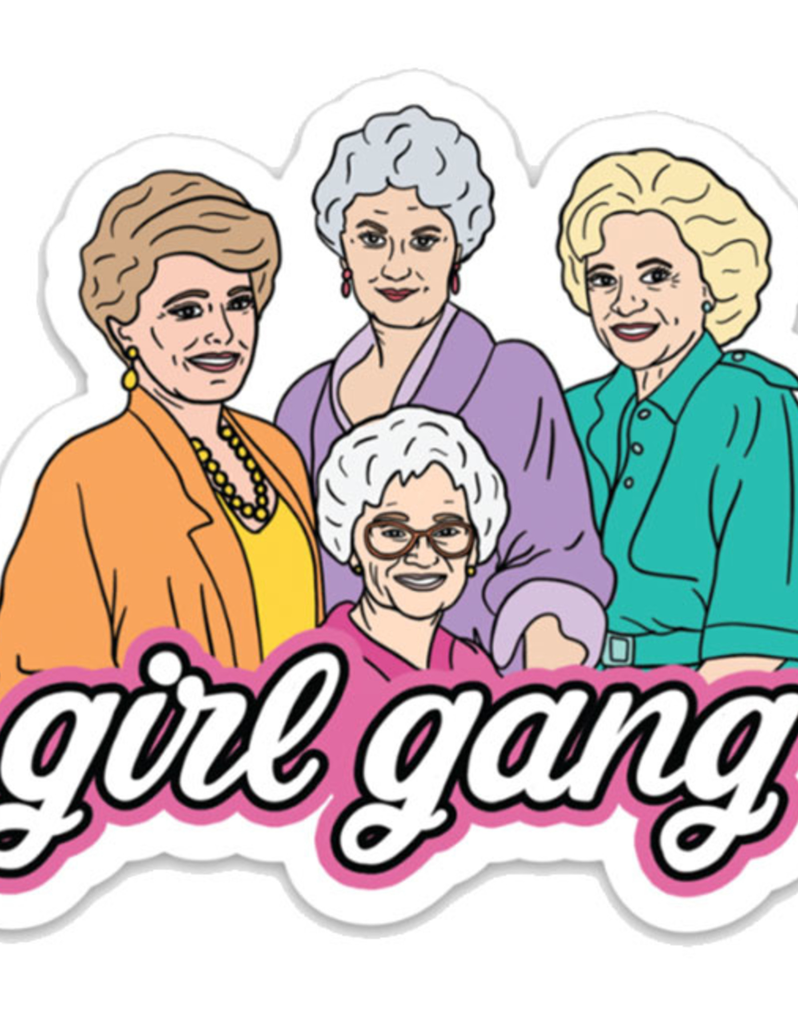 Brittany Paige Sticker: Girl Gang Golden Girls
