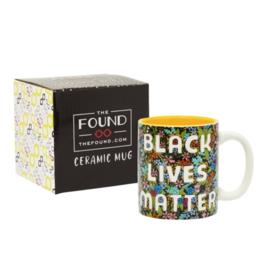 The Found Ceramic Mug: BLM