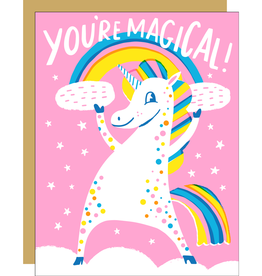 Egg Press Manufacturing Card - Blank: You're magical
