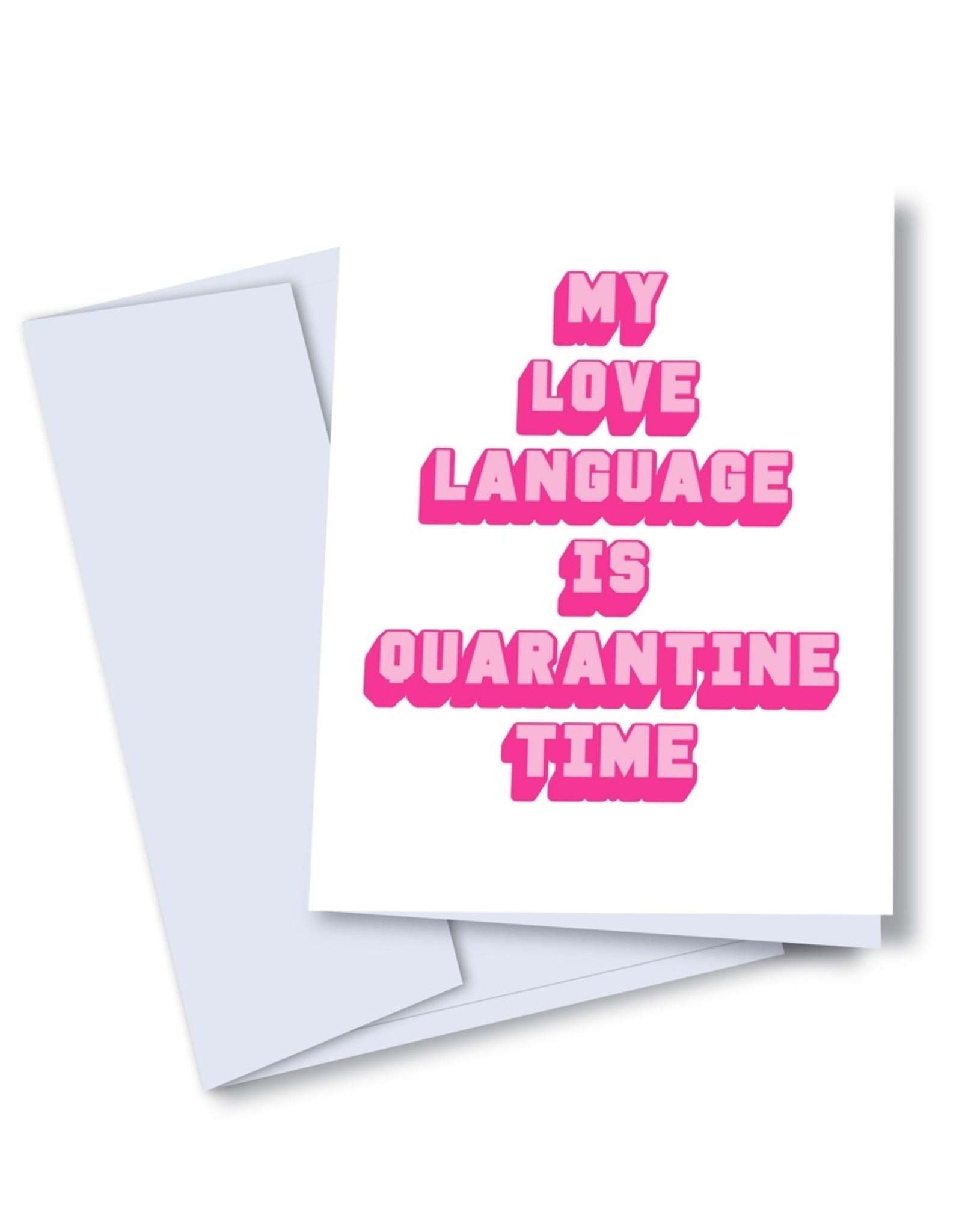 kaleidodope Card - Love: Language