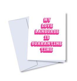 Card - Love: Language
