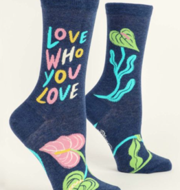 Blue Q Women's Socks: Love who you love