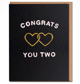 Daydream Prints Card - Wedding: Congrats you two