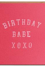 Daydream Prints Card - Birthday: Babe xoxo
