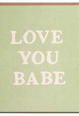 Daydream Prints Card - Love: Love you babe