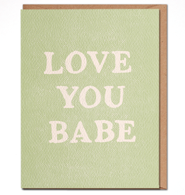 Daydream Prints Card - Love: Love you babe
