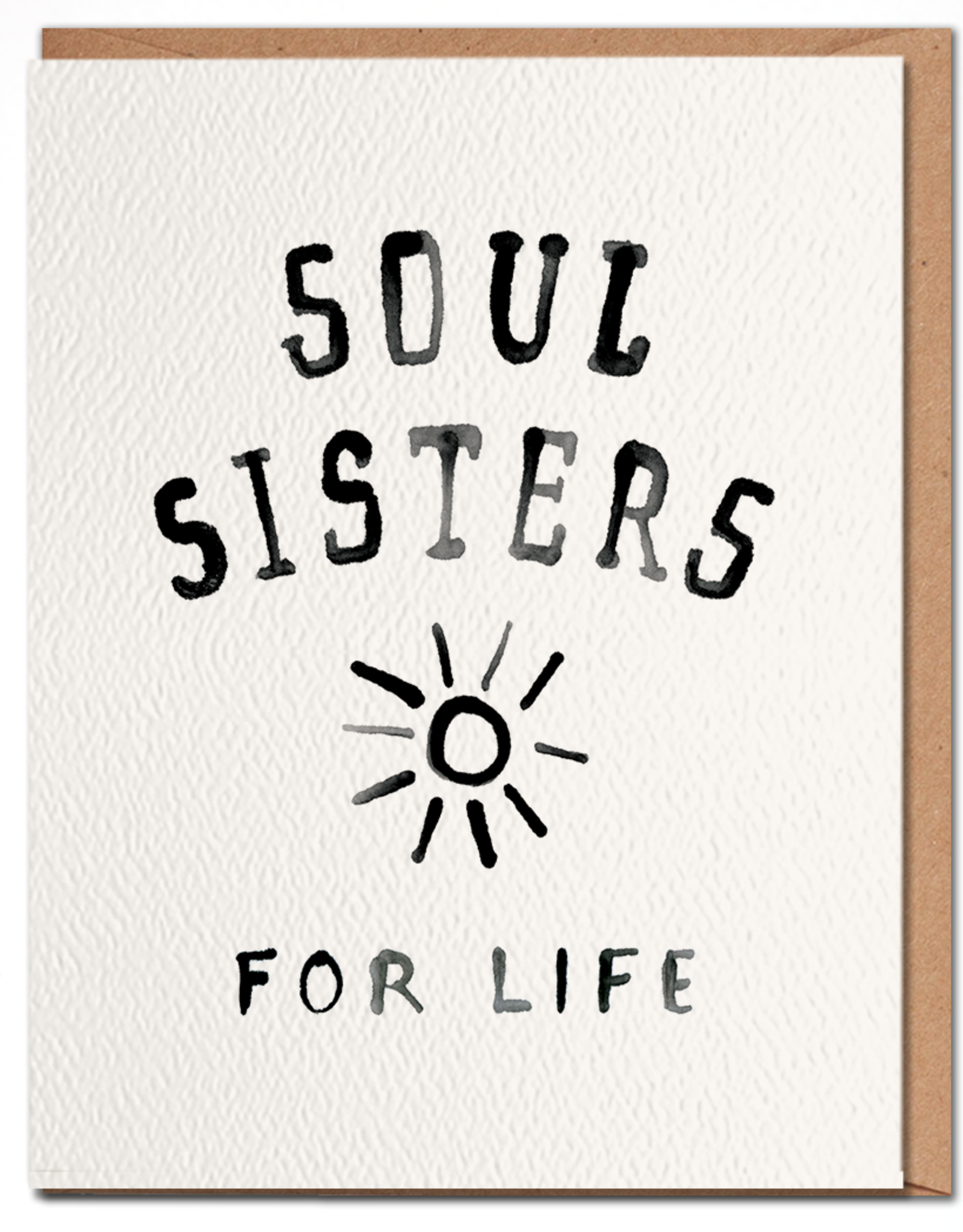 Daydream Prints Card - Love: Soul sisters for life