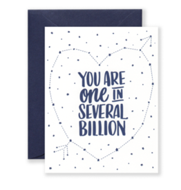 Card - Love: Several Billion