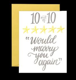 Card - Love: 10 of 10