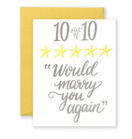 Lionheart Prints Card - Love: 10 of 10