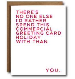 Card - Love: commercial holiday with you