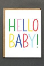 Public School Paper Co. Card - Baby: Hello Baby!