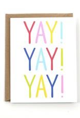Public School Paper Co. Card - Blank: Yay!