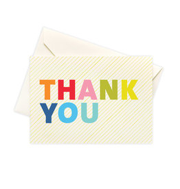 Seltzer Goods Boxed Cards - Thank you Colorful
