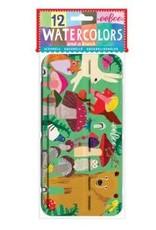 eeBoo Watercolor Set - Mushrooms