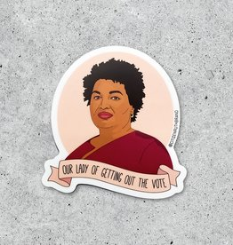 Citizen Ruth Sticker: Stacy Abrams voting