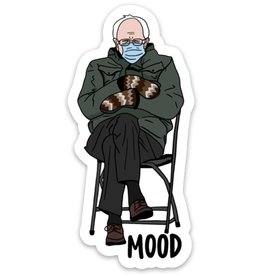 Brittany Paige Sticker: Bernie Mood