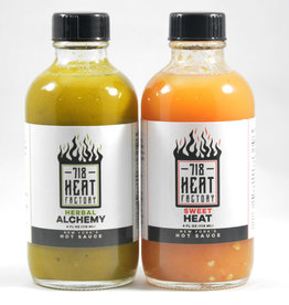 718 Heat Factory 718 Hot Sauce - 8oz