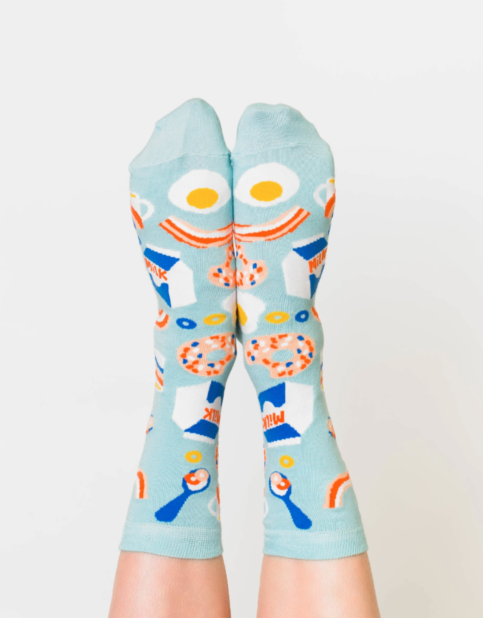 Yellow Owl Workshop Socks: Breakfast (Women's)