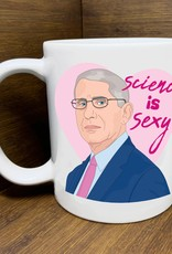 Citizen Ruth Mug: Science is Sexy Fauchi