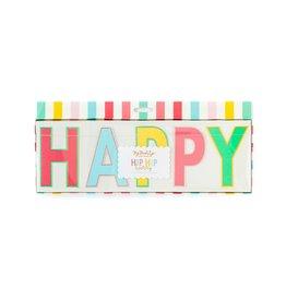 My Minds Eye Banner - Rainbow Happy Birthday